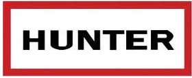 Hunter boots square logo